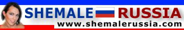Shemale Russia Logo Banner